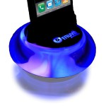 Console de Bureau Lumineuse Muvit Dock Zen iPhone/iPod