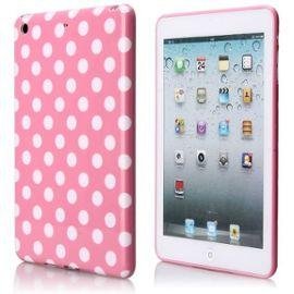 coque-plastique-souple-motif-pois-blanc-fond-rose-pour-apple-ipad-mini